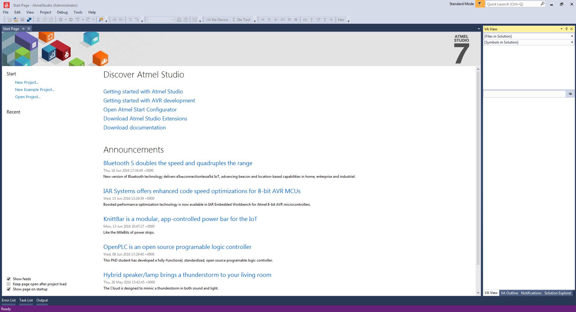 Atmel ARM в DIY?! «Hello world» в Atmel Studio для Cortex M4 - 4