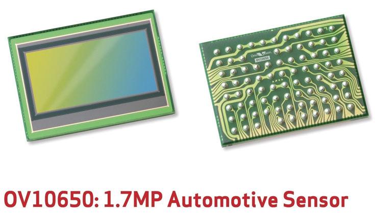 OmniVision OV10650 — первый датчик изображения разрешением 1,7 Мп с соотношением сторон кадра 2:1 и динамическим диапазоном 120 дБ