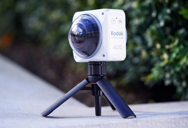 Экшн-камера Kodak PixPro 4KVR360 появится в продаже в следующем году
