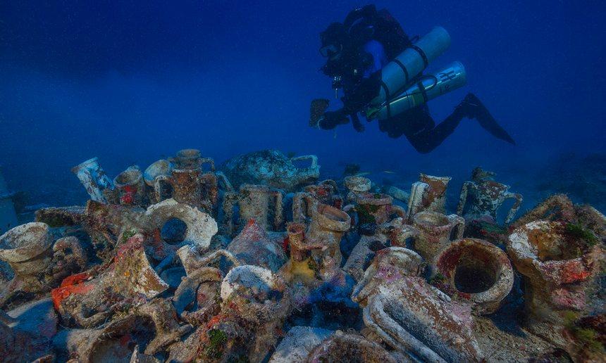 На месте обнаружения Антикитерского механизма нашли человеческий скелет - 1