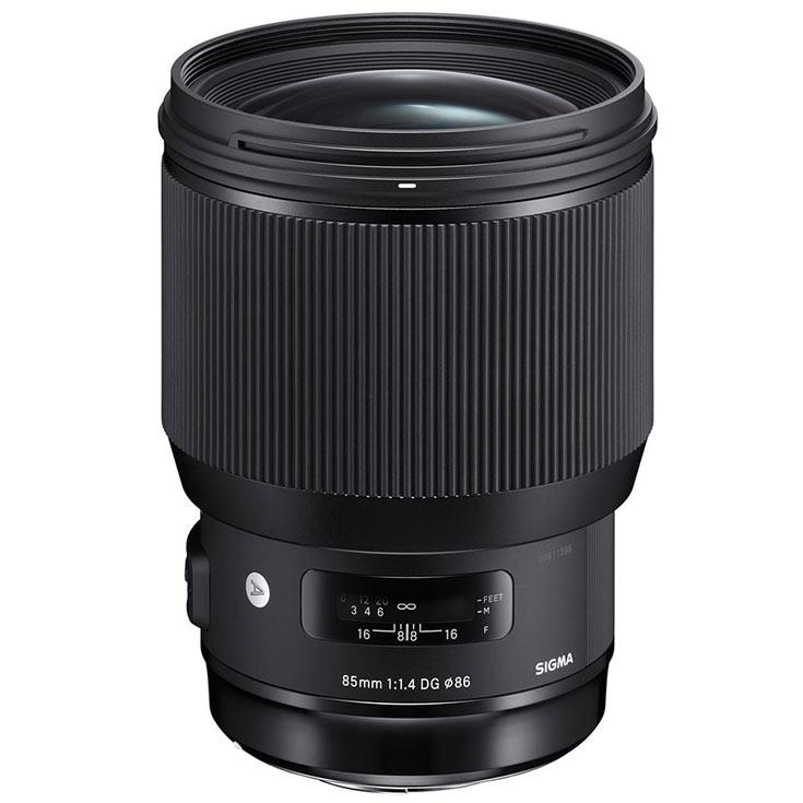 Объектив Sigma 85mm F1.4 DG HSM Art выпускается в вариантах для камер Canon, Nikon и Sigma