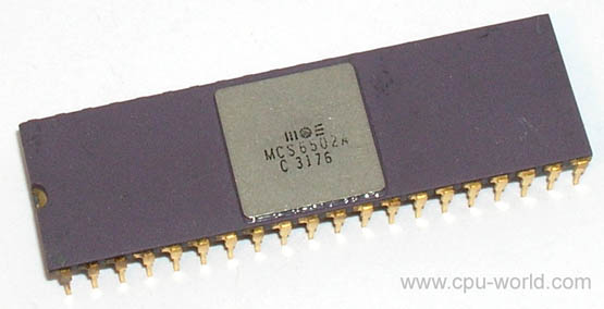 Процессор Терминатора, Бендера, Денди и Apple 2: MOS 6502 - 3