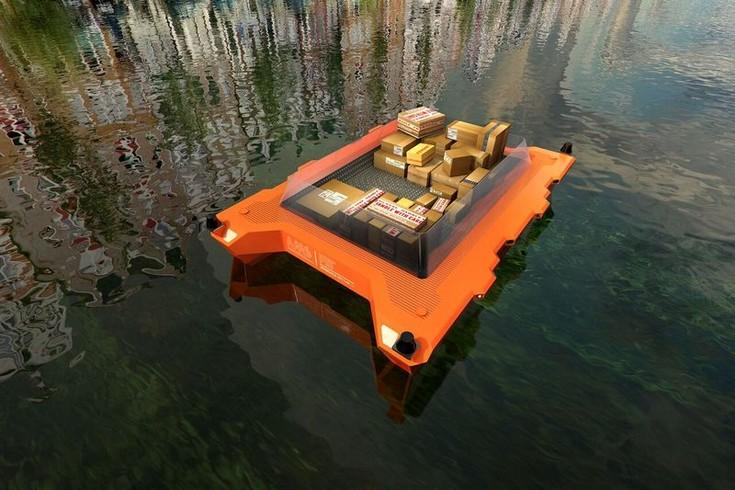 Нидерланды хотят запустить в каналы Амстердама флот беспилотных платформ