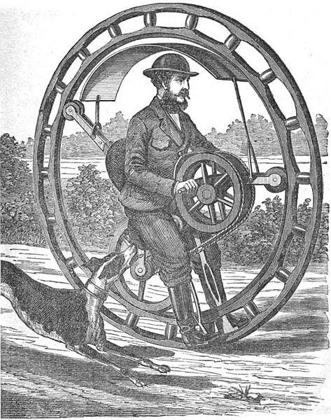 Городские парусники, транспорт будущего или укрощение моноколеса - 7
