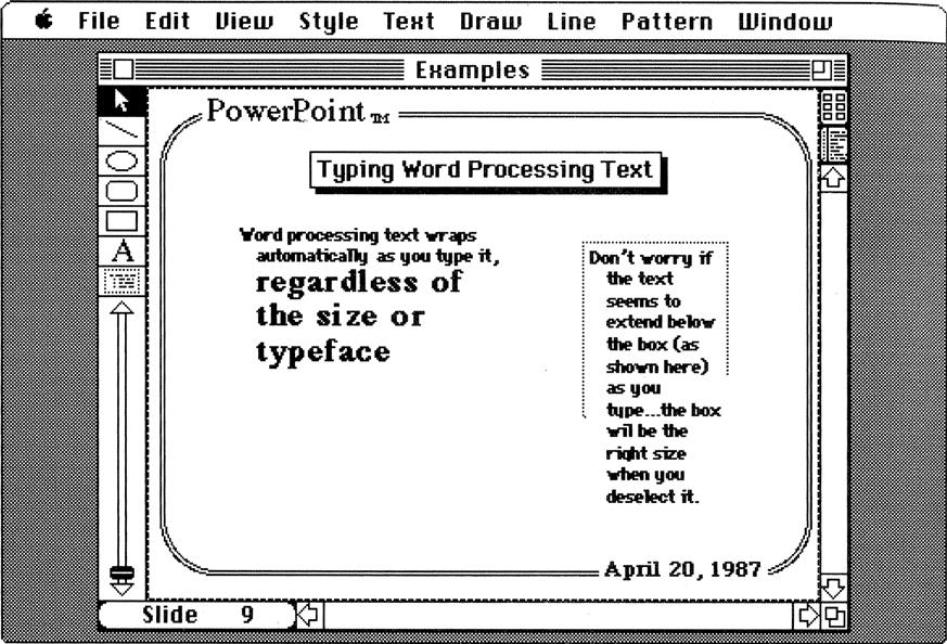 История PowerPoint. Как стартап изменил формат презентации - 19