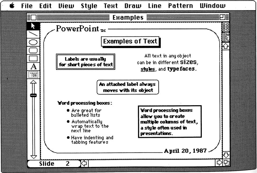 История PowerPoint. Как стартап изменил формат презентации - 20