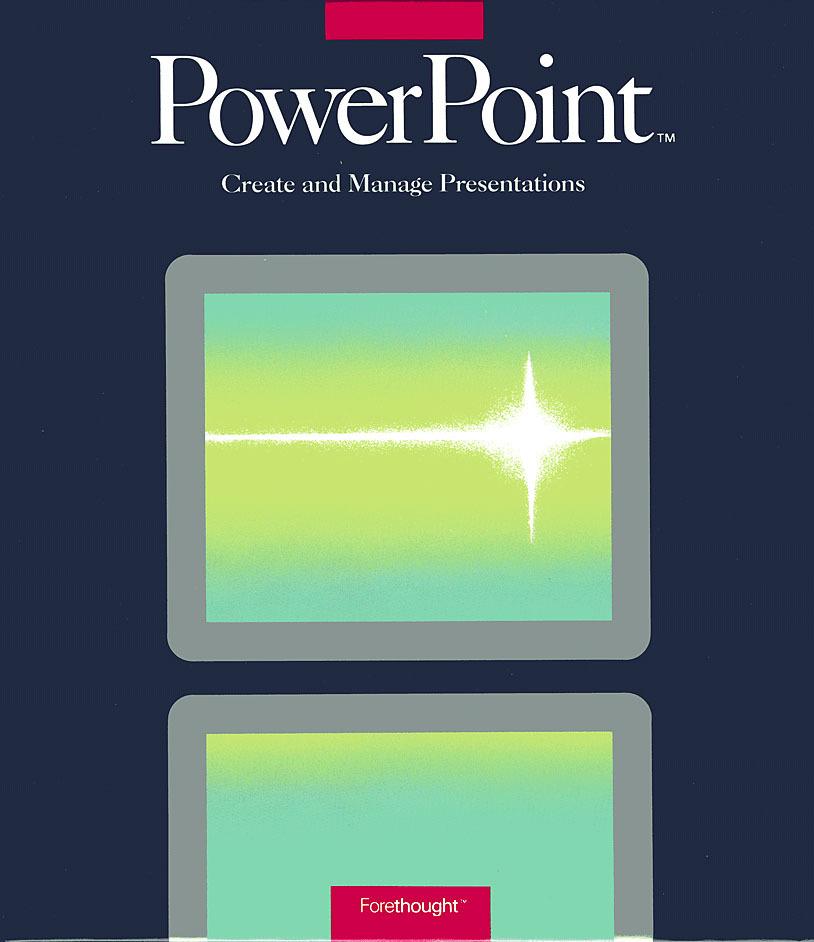 История PowerPoint. Как стартап изменил формат презентации - 1