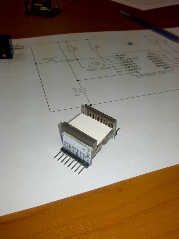 Панелька для ESP8266 ESP-12 - 11