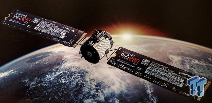 Первым твердотельным накопителем формата M.2 с 64-слойной памятью VNAND станет Samsung 960 Pro объёмом 2 ТБ - 1
