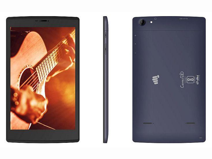 Micromax представила бюджетный планшет Canvas Tab P681