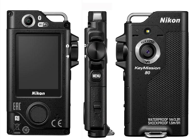 Продажи всех трех моделей серии KeyMission должны начаться в октябре