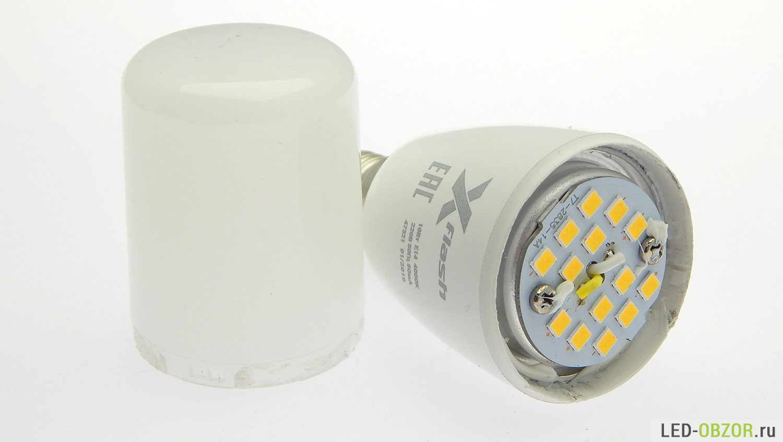 Сверхъяркие светодиодные диммируемые «пальчики» X-Flash TC - 3