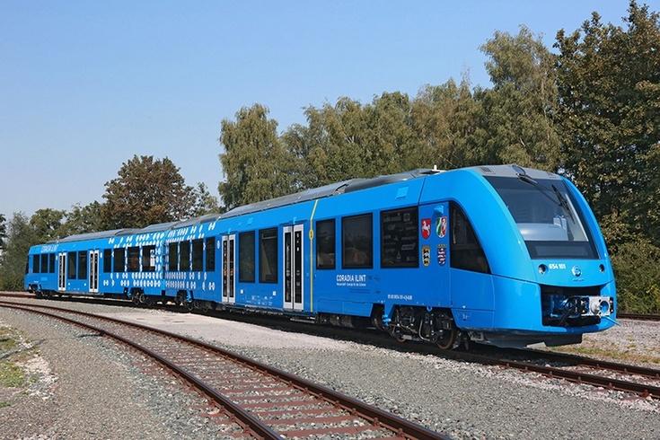 Alstorm выводит на рынок водородный поезд