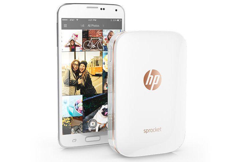 Принтер HP Sprocket, печатающий на бумаге ZINK, оценивается в 130 долларов