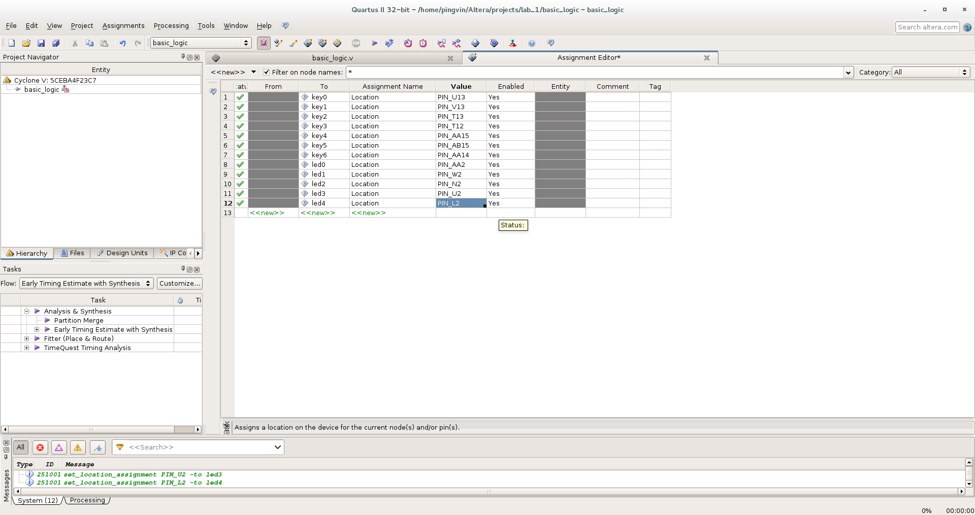 Первый проект на FPGA Altera и подключение USB-Blaster в Linux - 15