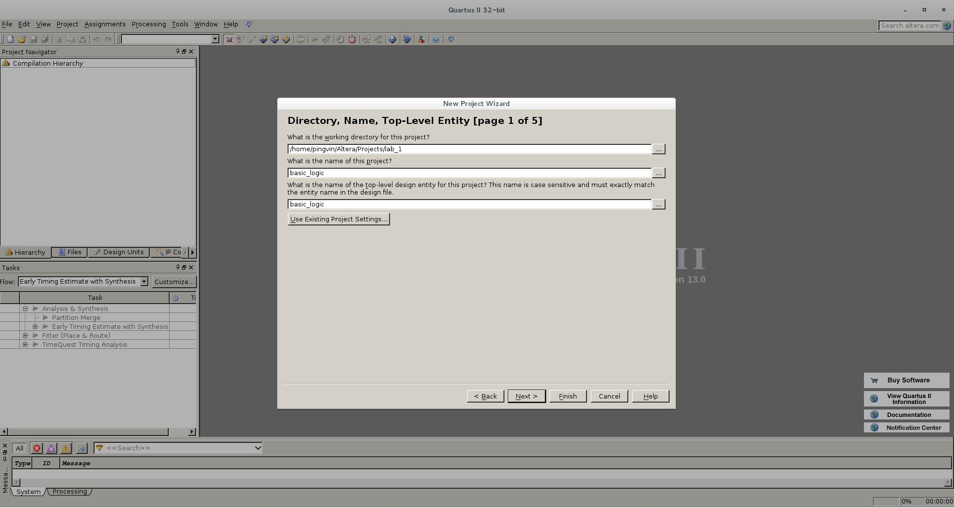 Первый проект на FPGA Altera и подключение USB-Blaster в Linux - 4