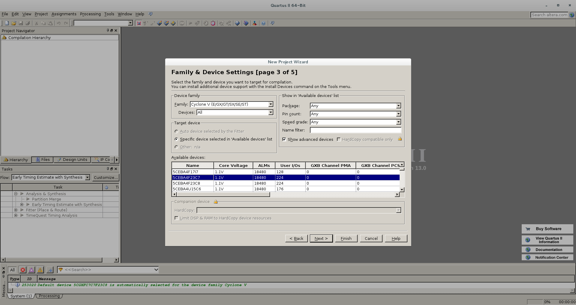 Первый проект на FPGA Altera и подключение USB-Blaster в Linux - 6