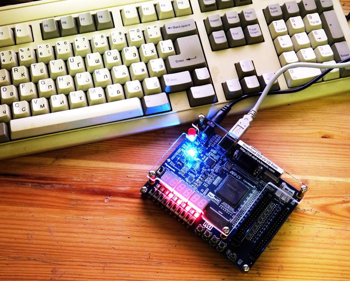Первый проект на FPGA Altera и подключение USB-Blaster в Linux - 1