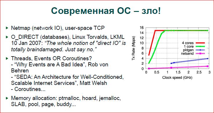 Современная операционная система: что надо знать разработчику - 2