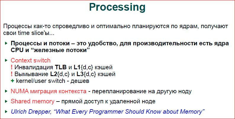 Современная операционная система: что надо знать разработчику - 6