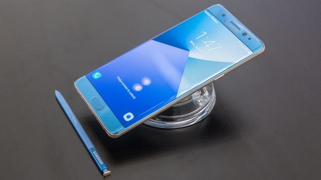 Samsung подтвердила сведения о перегреве Samsung Galaxy Note7 из новой партии