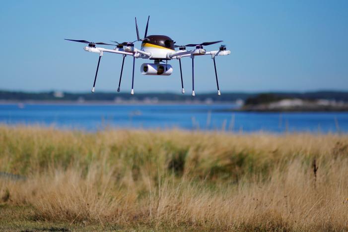Согласно требованиям FAA, опубликованным в конце августа, дрон может весить не более 25 кг