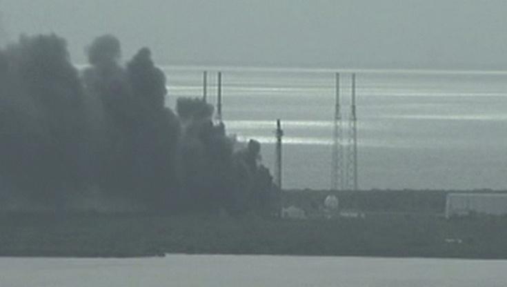 Криогенная установка стала причиной взрыва Falcon 9