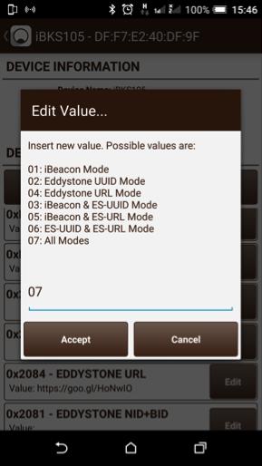 Маячки Eddystone для контроля расхода электроэнергии - 5