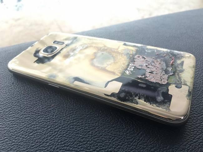 На Филиппинах зарегистрирован еще один случай возгорания смартфона Samsung Galaxy S7 edge