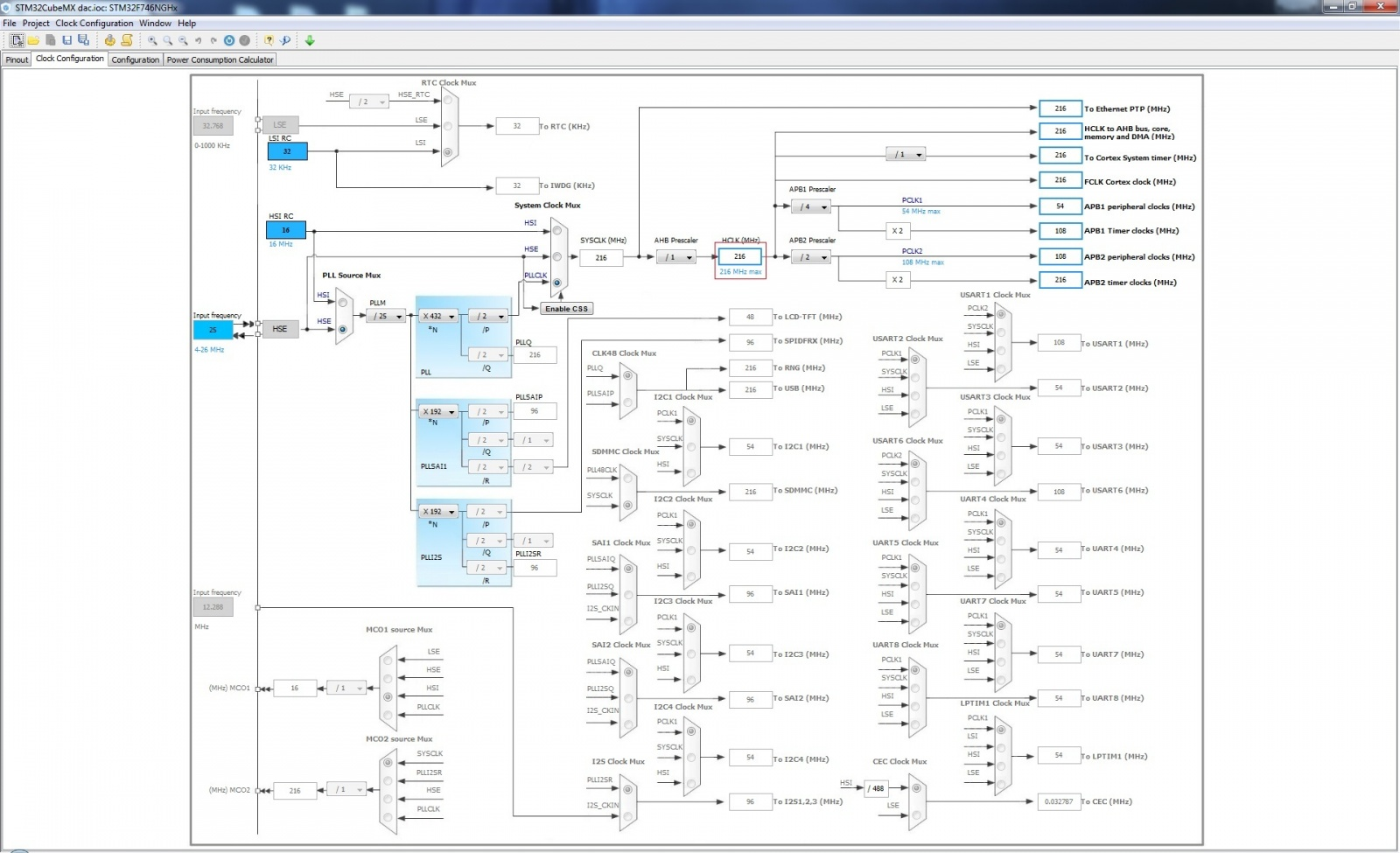 Начинаем работать в STM32CubeMX. Часть 1 - 5