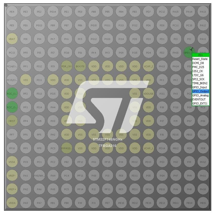 Начинаем работать в STM32CubeMX. Часть 1 - 6