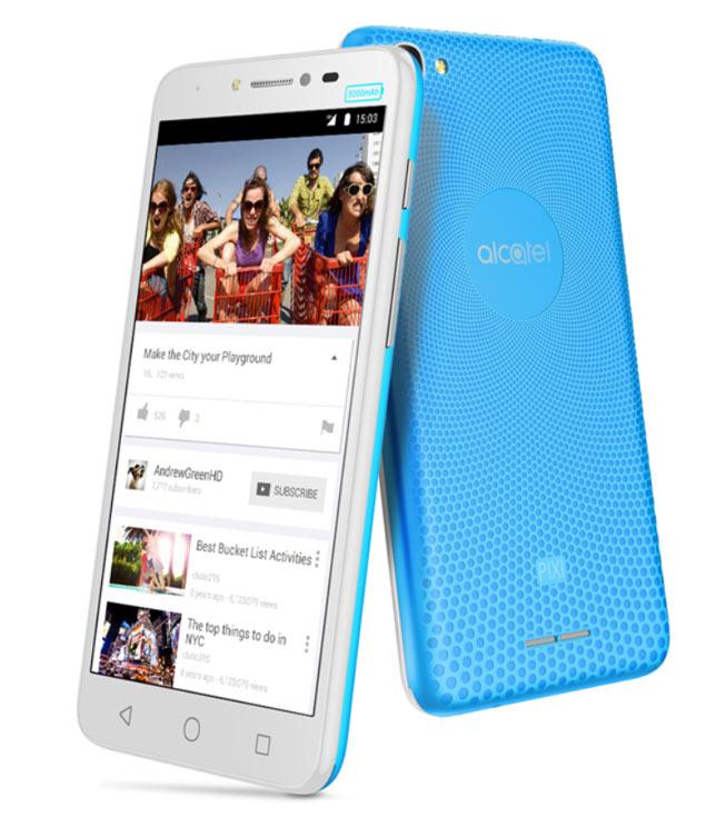 Смартфон Alcatel Pixi 4 Plus работает под управлением ОС Android 6.0