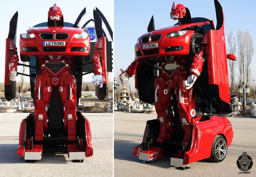 Турецкая компания разработала настоящих трансформеров-автоботов - 1