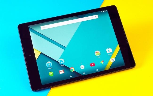 Google тестирует ОС Andromeda на планшете Nexus 9