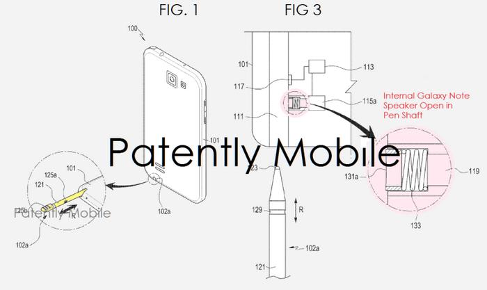 Стилус следующего Samsung Galaxy Note может включать громкоговоритель