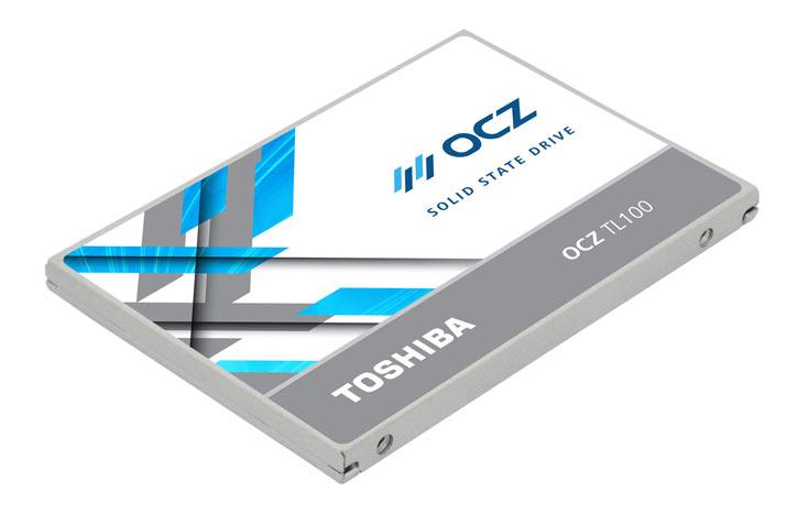 Серия OCZ TL100 включает модели объемом 120 и 240 ГБ