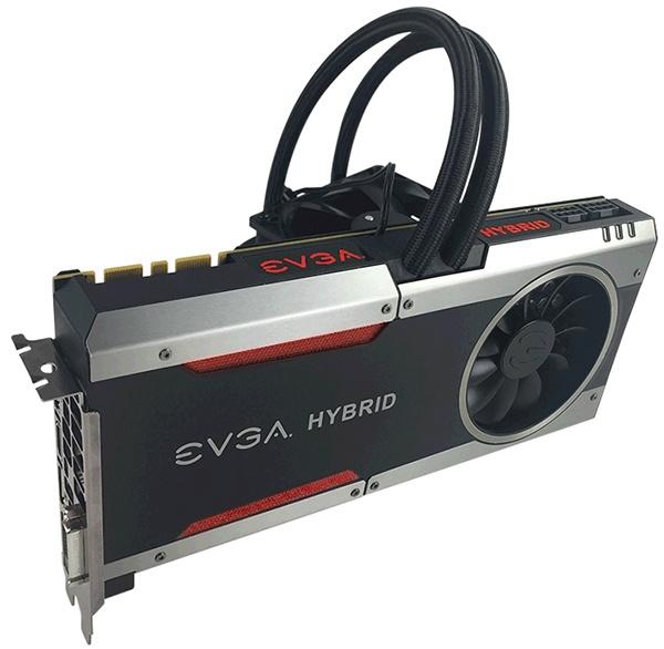 EVGA GeForce GTX 1080 FTW Hybrid и GeForce GTX 1070 FTW Hybrid получили настраиваемую подсветку RGB