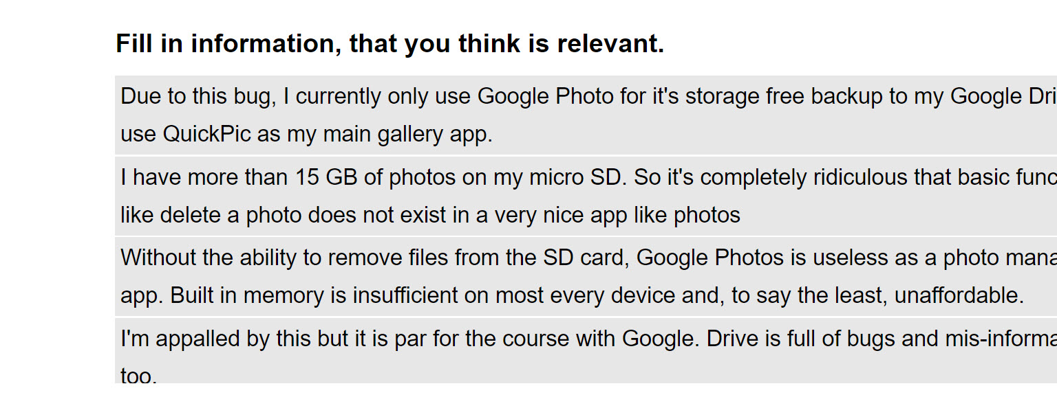 Google Photos не может удалять файлы с SD карты - 9