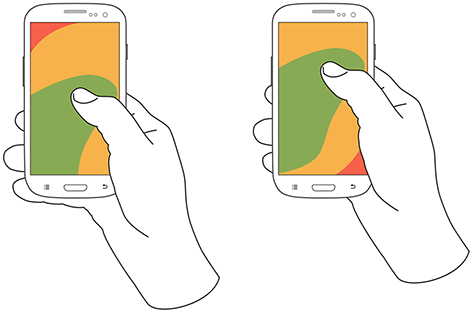 Разработка взаимодействия с пользователем мобильных устройств — ключевые принципы - 12