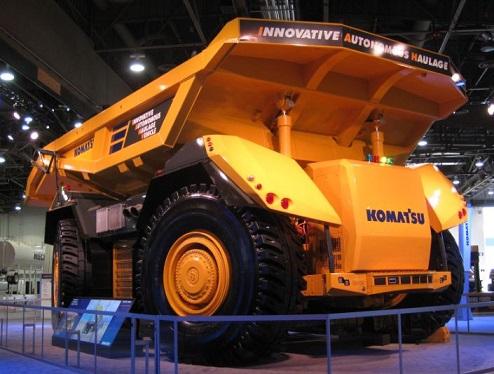 У Komatsu готов беспилотный самосвал для шахт и карьеров