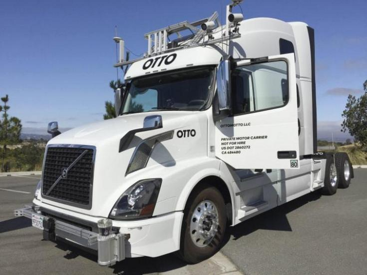 Uber будет использовать компанию Otto для выхода на рынок грузоперевозок