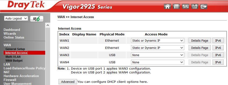 Обзор маршрутизатора Draytek серии 2925. Часть вторая - 17
