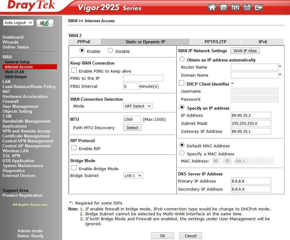 Обзор маршрутизатора Draytek серии 2925. Часть вторая - 18