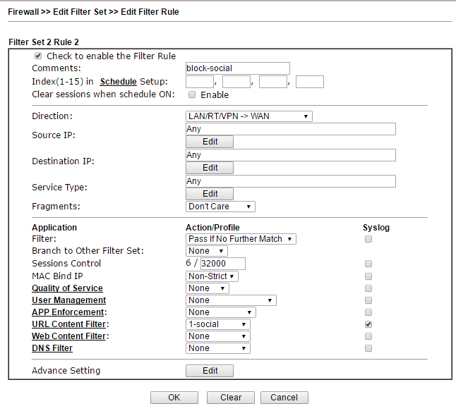 Обзор маршрутизатора Draytek серии 2925. Часть вторая - 36