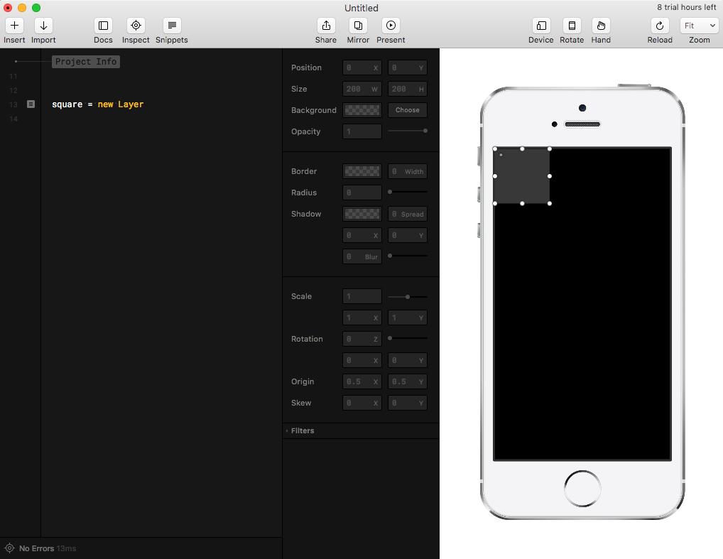 Прототипирование iOS-анимаций с Framer - 8