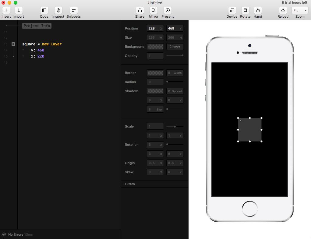 Прототипирование iOS-анимаций с Framer - 9