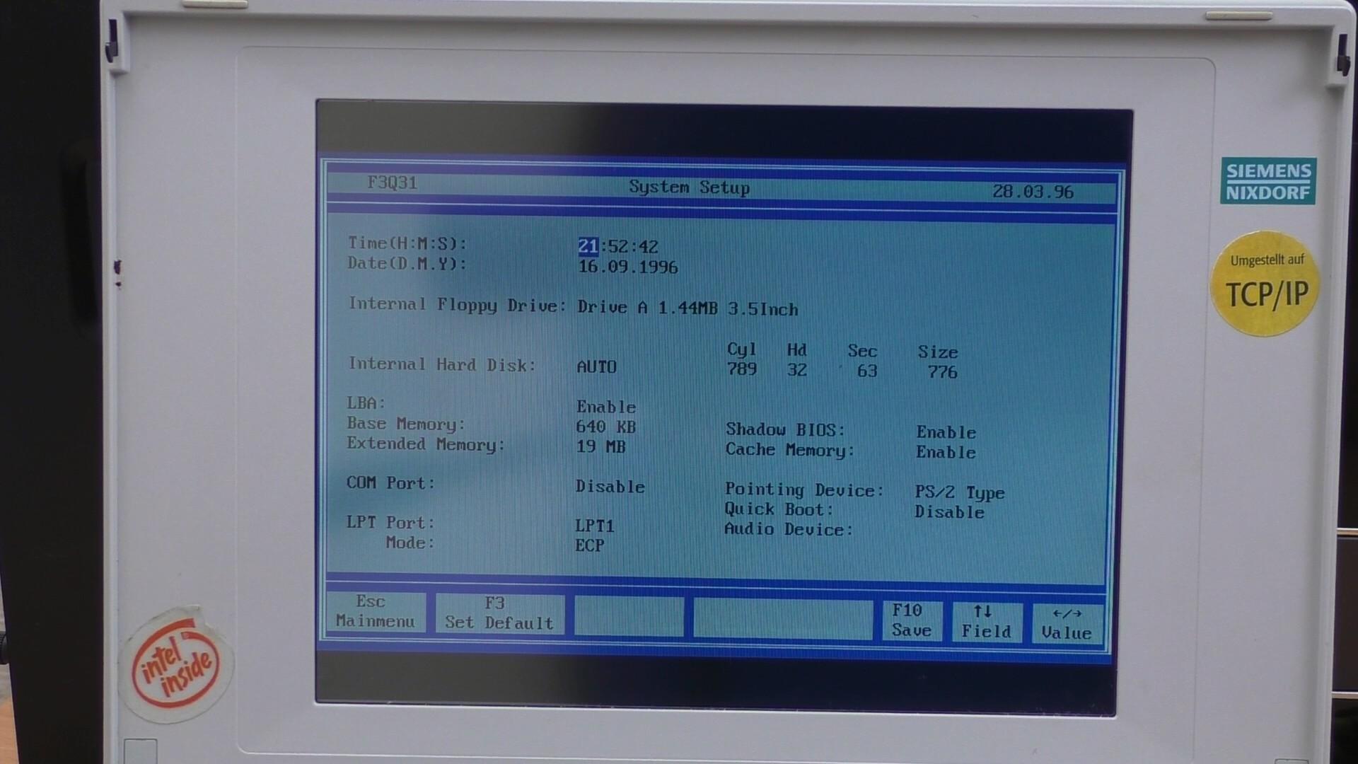Мощь 80486 на Siemens Nixdorf PCD-4ND (текст и видео — на выбор) - 24