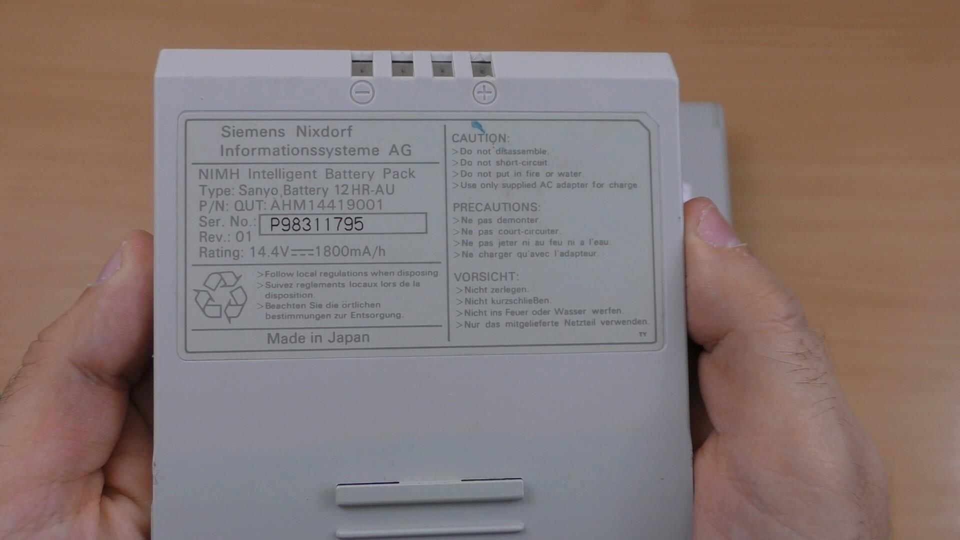 Мощь 80486 на Siemens Nixdorf PCD-4ND (текст и видео — на выбор) - 3