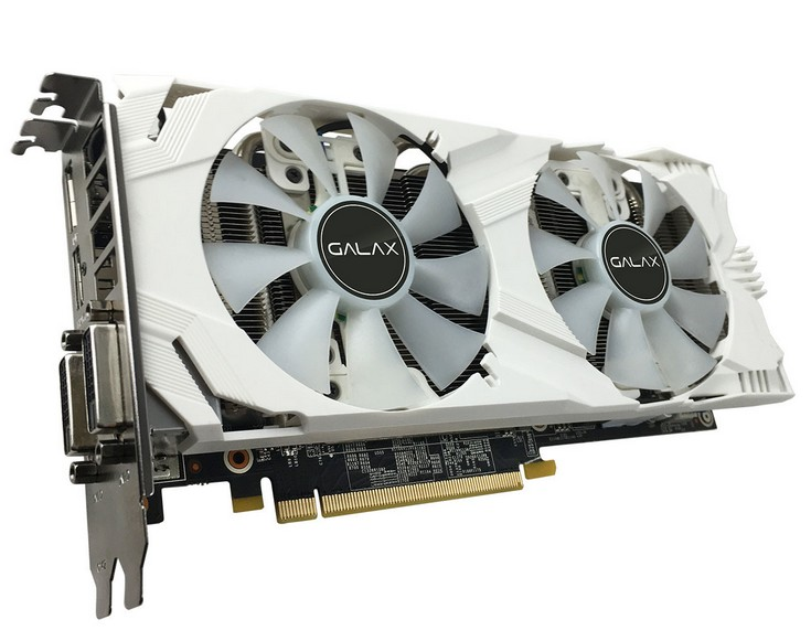 Galax представила пару новых карт GeForce GTX 1060