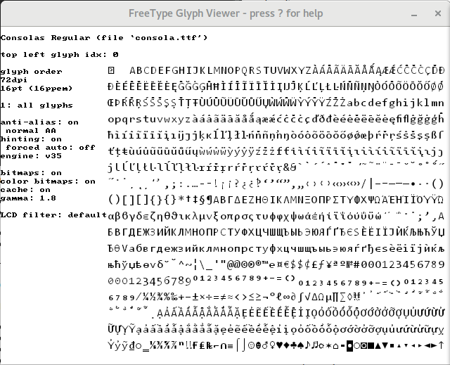 FreeType 2.7 — превосходное качество шрифтов Linux - 3